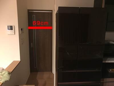 ドアの幅が狭いトラブル