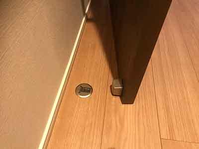 ドアの留め具