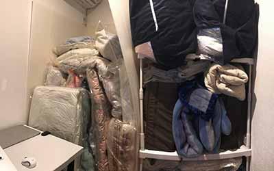 納戸の布団は整理